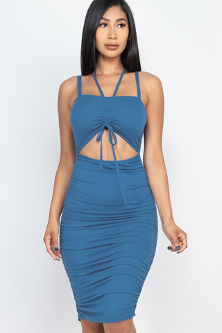 Blue Haze Midi Dress