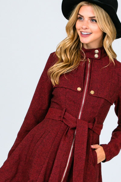 Keep Me Warm Tweed Jacket