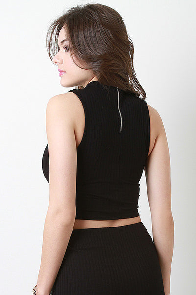 Rib Knit Crop Top
