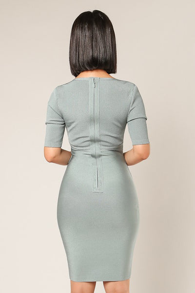 Denisse Bandage Dress