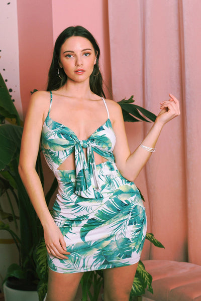 Jenny Tropical Dress