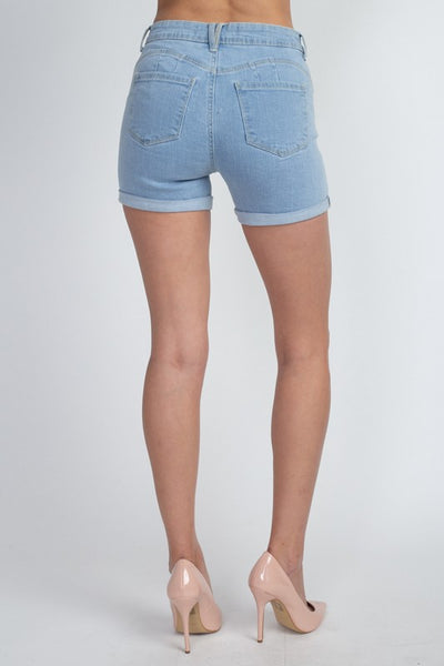 Jojo Light Denim Shorts