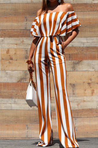 Aurelia Off Shoulder Jumpsuit