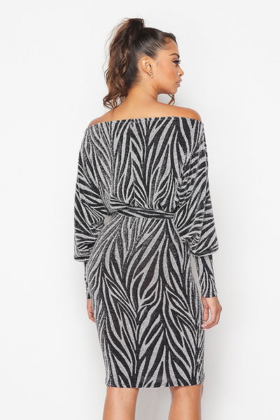 Lyssa Lurex Dress
