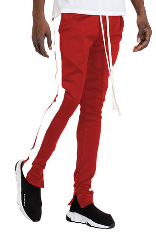 Ethan Red Track Pants