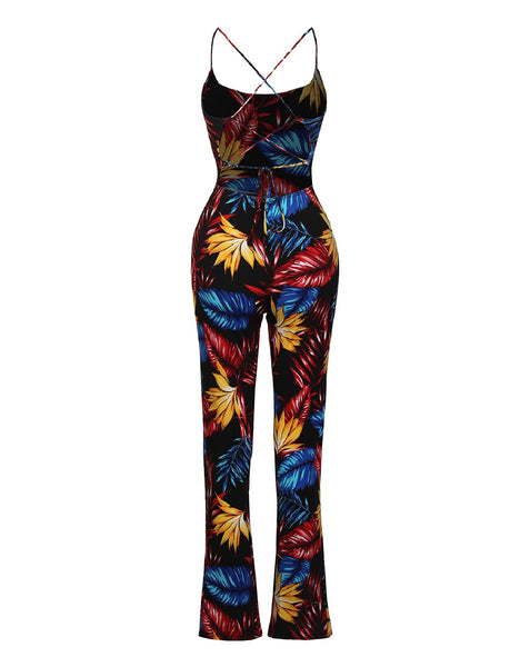 Molly Tropical Jumpsuit