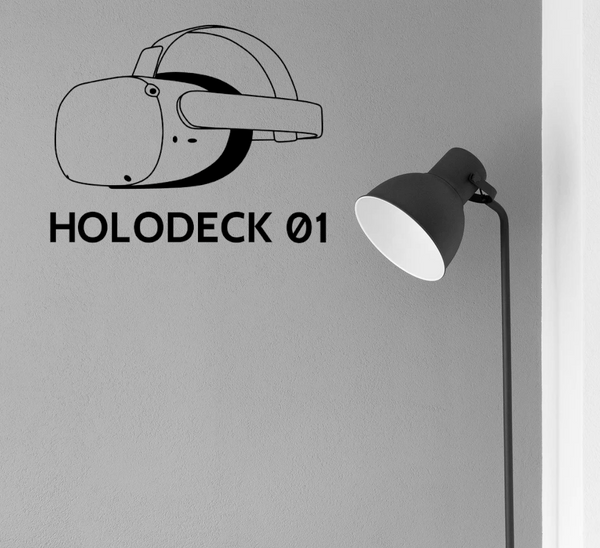 VR Wall Decal - Holodeck
