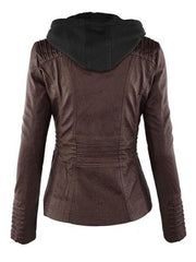 Patchwork Brilliant Hooded Jackets