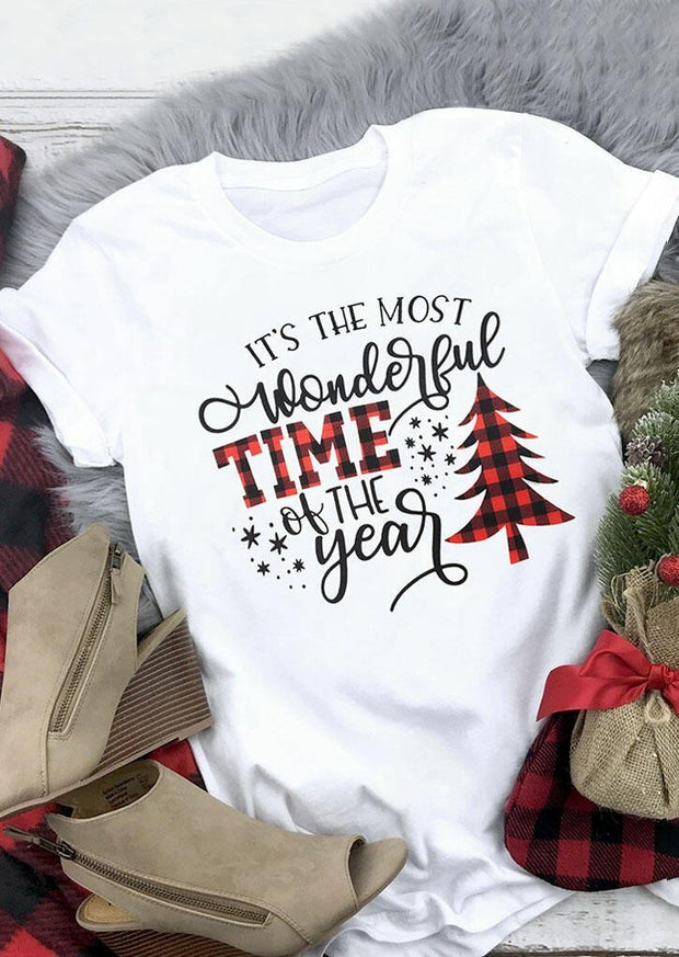 Christmas Wonderful Time Of The Year T-Shirt
