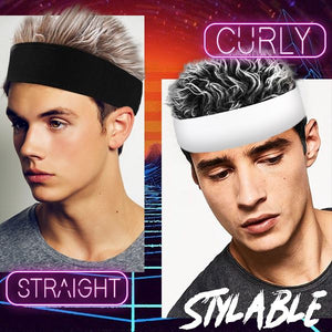 Men's Fashion - Spiked Hair Wig Headband Beauty mikgoodies