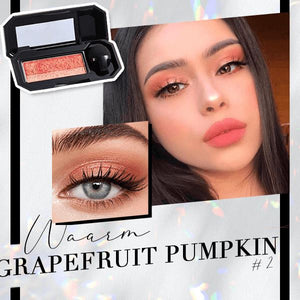 Perfect Dual-color Eyeshadow Beauty & Personal Care Clevativity Grapefruit Pumpkin