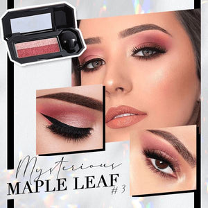 Perfect Dual-color Eyeshadow Beauty & Personal Care Clevativity Maple Leaf