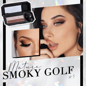 Perfect Dual-color Eyeshadow Beauty & Personal Care Clevativity Smoky Golf