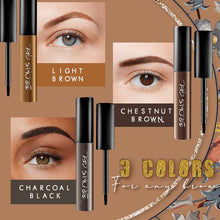 Load image into Gallery viewer, Brow Tattoo Gel Tint Beauty glassywhite Light Brown
