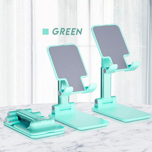 Ergonomic Adjustable Phone Stand Cell Phones & Accessories softystarry Mint green