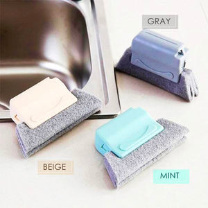 Groove Cleaning Brush Home mikgoodies Gray