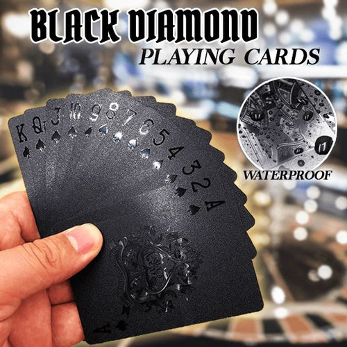 Black Diamond Playing Cards Pets & Toys Clevativity
