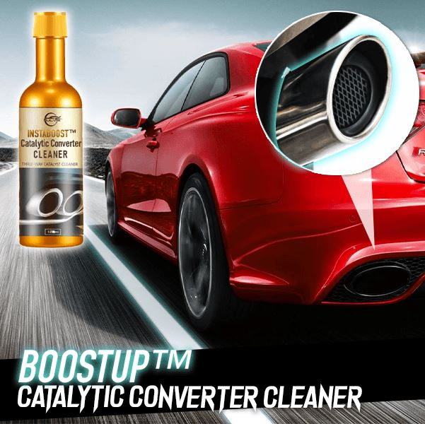 InstaBoost™ Catalytic Converter Cleaner (120ml) Car AiryIndigo