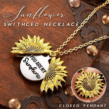 Load image into Gallery viewer, Sunflower Switched Necklace Beauty esfranki.co GOLD
