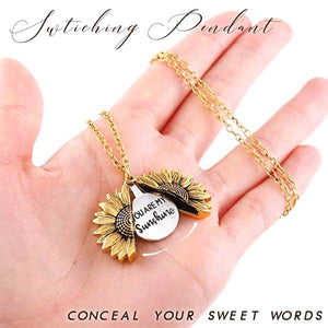 Sunflower Switched Necklace Beauty esfranki.co