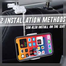 Load image into Gallery viewer, 360° Rearview Mirror Phone Holder Car Electronics & Accessories glassylilac