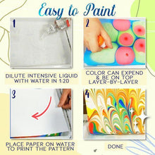 Load image into Gallery viewer, Water Marbling Paint Set Crafts & DIY usimaginever