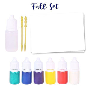 Water Marbling Paint Set Crafts & DIY usimaginever