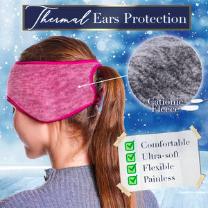 2 In 1 Ponytail Headband Beauty mikgoodies