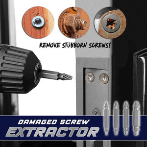 Damaged Screw Extractor (4Pcs) Workshop clairehomey