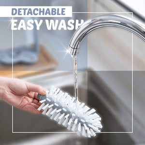 360° Easy Glass Cleaning Brush Kitchen glassywhite
