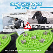 Load image into Gallery viewer, Anti Slip Ice Traction Cleats Outdoor glassywhite