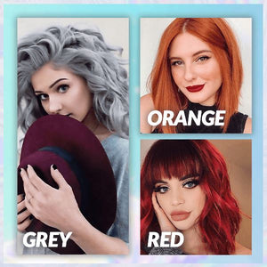 Hair Coloring Shampoo (50% OFF) Beauty RochLaRue GREY 1 PC (For Short To Medium Length Hair)