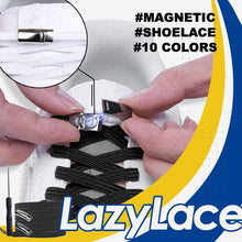 Load image into Gallery viewer, LazyLace Magnetic Shoelace Genius Solutions mikgoodies GOLD BLACK