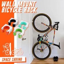 Load image into Gallery viewer, Wall Mount Bicycle Rack Innovative RochLaRue Road Bike Orange