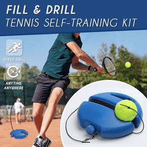 Fill & Drill Tennis Self-Training Kit Innovative MintyParadise