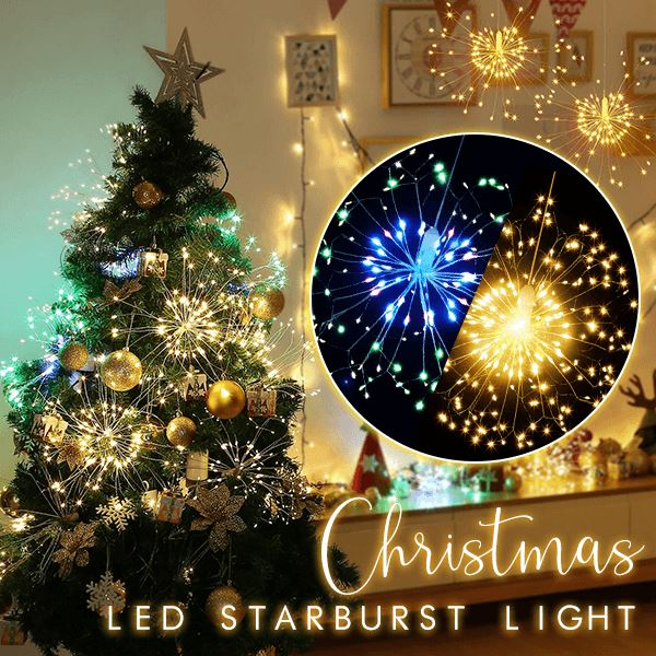 Christmas LED Starburst Light Home esfranki.co