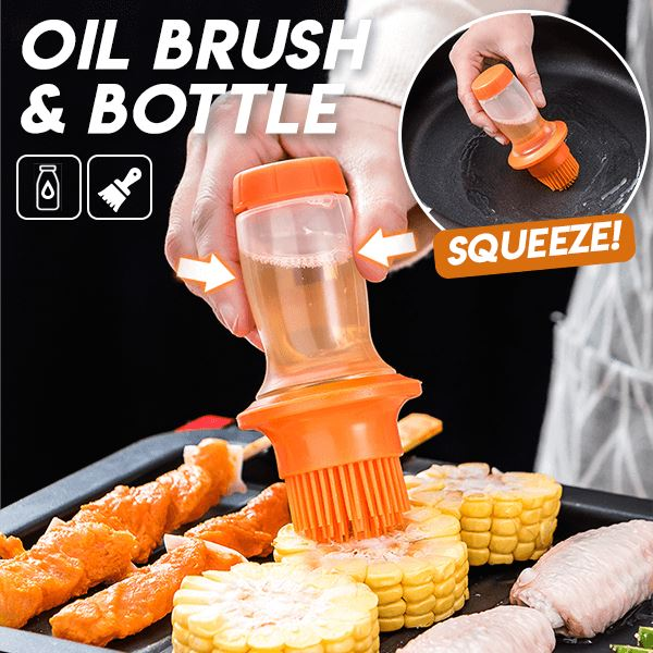 All-in-one Oil Brush & Bottle Kitchen & Dining esfranki.co