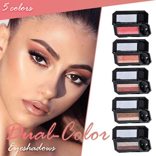 Perfect Dual-color Eyeshadow Beauty & Personal Care Clevativity Peach Blossom
