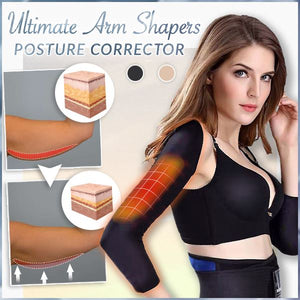 Ultimate Arm Shapers With Posture Corrector Beauty mikgoodies BLACK M
