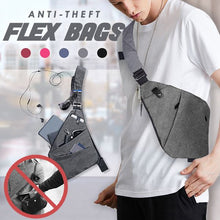 Load image into Gallery viewer, Anti-Theft Flex Bags Outdoor mikgoodies GREY