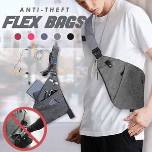 Anti-Theft Flex Bags Outdoor mikgoodies GREY
