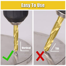 Load image into Gallery viewer, Thread Tap Drill Bits Set (3/6pcs) Workshop esfrankius