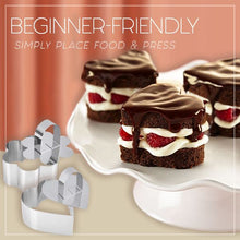 Load image into Gallery viewer, Versatile Mousse Cake Ring Molds Set Kitchen mikgoodies SET B