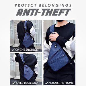 Anti-Theft Flex Bags Outdoor mikgoodies BLUE