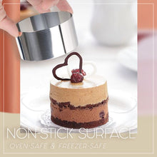 Load image into Gallery viewer, Versatile Mousse Cake Ring Molds Set Kitchen mikgoodies