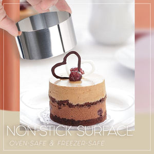Versatile Mousse Cake Ring Molds Set Kitchen mikgoodies