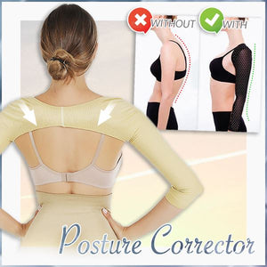 Ultimate Arm Shapers With Posture Corrector Beauty mikgoodies BEIGE M