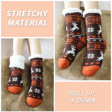 Load image into Gallery viewer, Extra-warm Fleece Indoor Socks Home esfranki.co