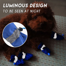 Load image into Gallery viewer, Adjustable Non-Slip Pets Shoes Cover (4 PCS) Pets & Toys esfranki.co Blue Size 4