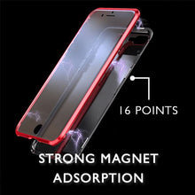 Load image into Gallery viewer, 360° Protection Magnet iphone Case Electronic VanillaSnowball Red For iPhone 7